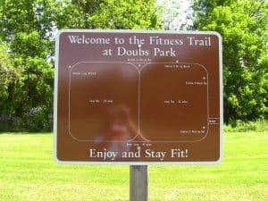 2 walking trails within one big loop