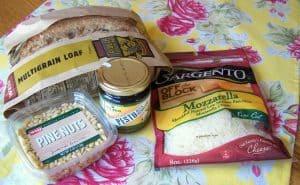Pesto, Toasted Pine Nut, Mozzarella Panini Recipe - 10 Weight Watchers Points Plus Value