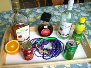 Everything you need to make this drink