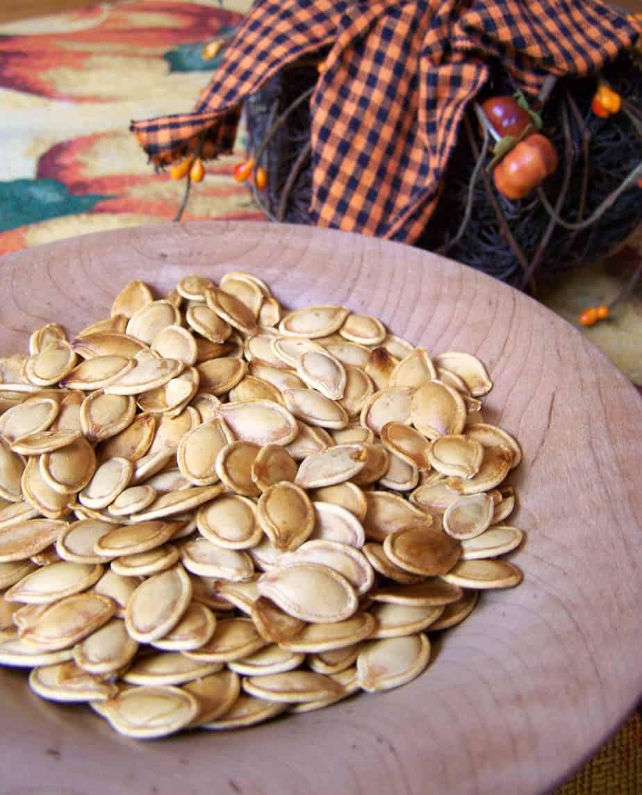Roasted Pumpkin Seeds Recipe - 6 Weight Watchers Points ...