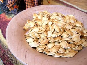 Roasted Pumpkin Seeds Recipe - 6 Weight Watchers Points Plus Value