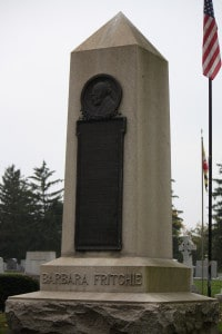 Barbara Fritchie Grave & Monument