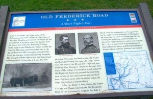 Old Frederick Road History