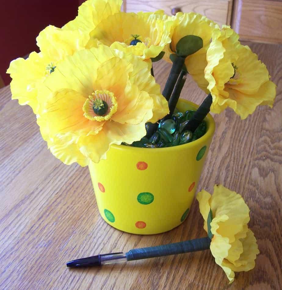 Flower Pens: Practical Teacher Appreciation Gifts