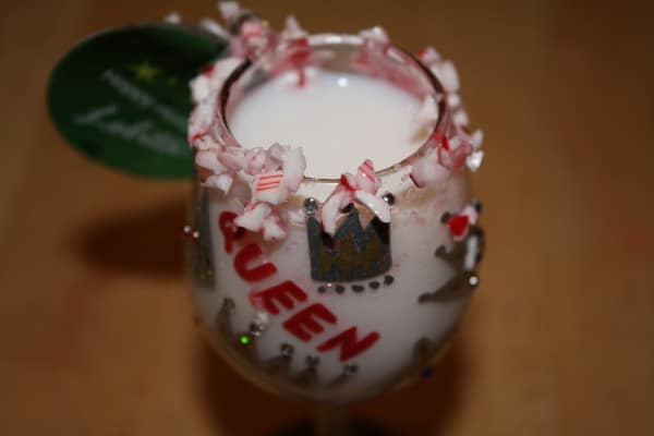 The Candy Cane Peppermint Schnapps Drink