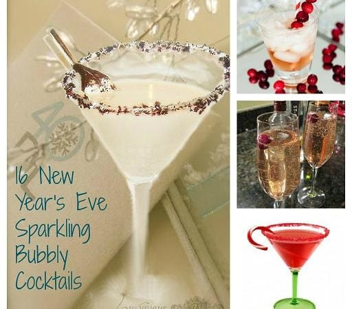 New Year's Eve Cocktails: 16 Sparkling Bubbly Cocktails to Celebrate With
