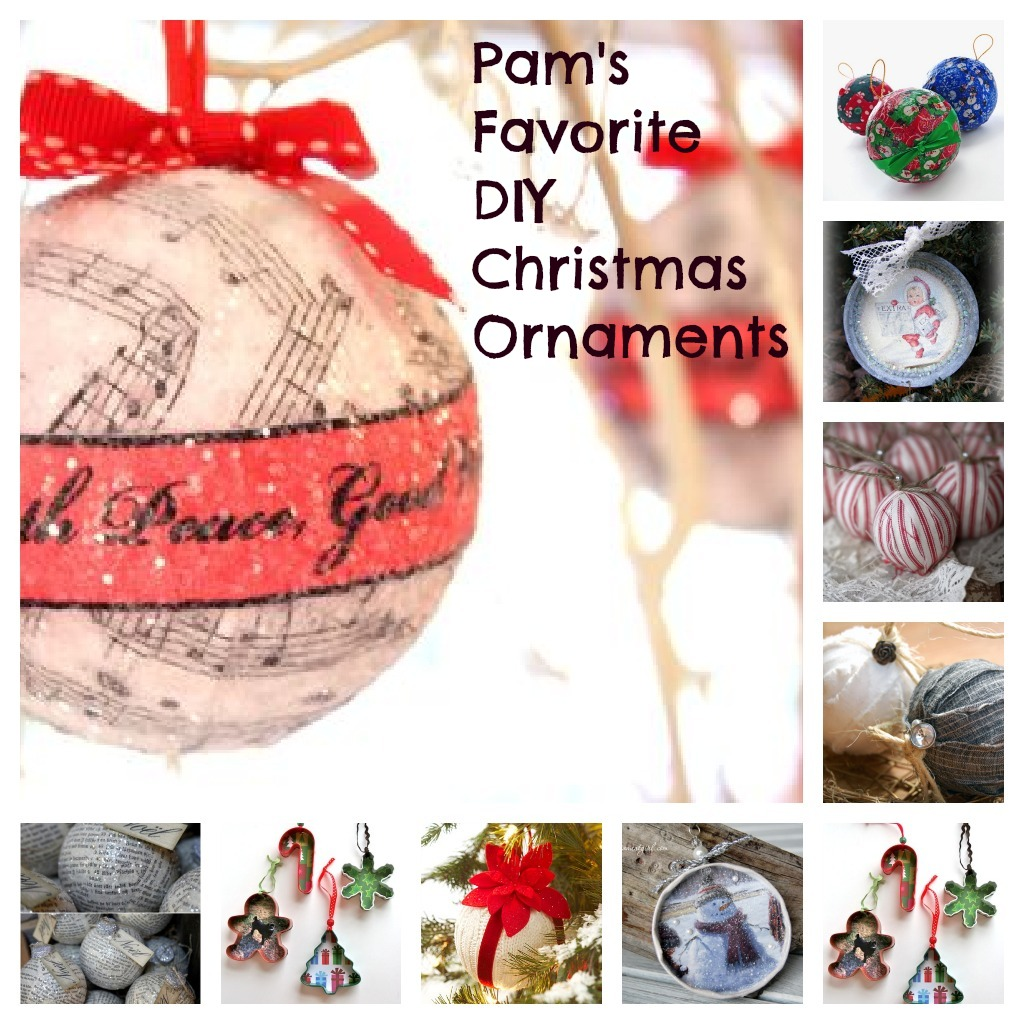 Top 10 diy ornaments for christmas easy and inexpensive pams favorite diy christmas ornaments solutioingenieria Choice Image