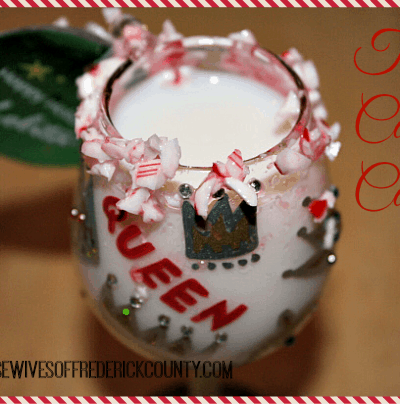 The Candy Cane - A Perfect Peppermint Schnapps Drink For The Holidays!