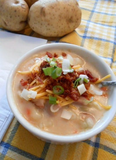 The Best Ham Potato Soup Recipe