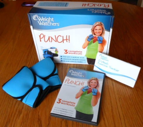 Weight Watchers PUNCH! Low Impact Kickboxing DVD Review