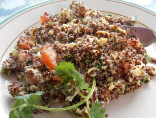 Quinoa Breakfast Scramble Recipe - 12 Weight Watchers Points Plus Value