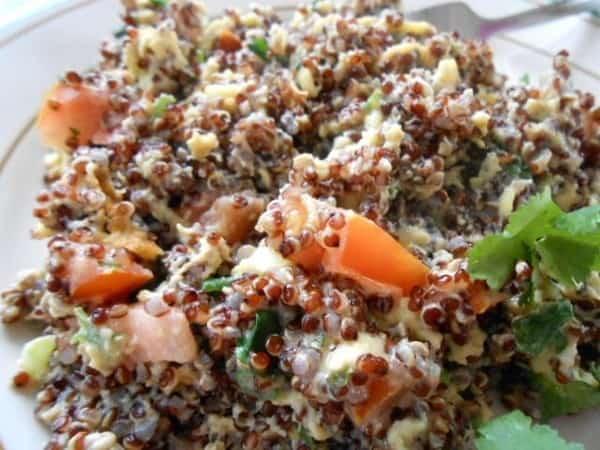 Quinoa Breakfast Scramble Recipe – 12 Weight Watchers Points Plus Value