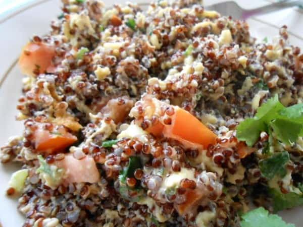 Quinoa Breakfast Scramble Recipe - 12 Weight Watchers Points Plus Value
