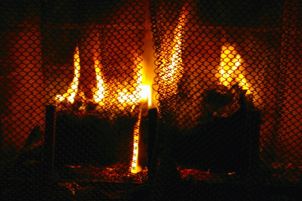 Use safety precautions when using a fireplace