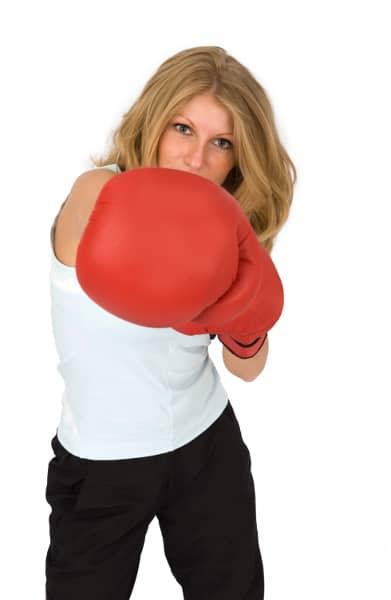 Kickboxing is fun!