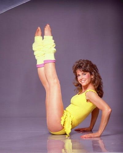 I'm a product of the Jane Fonda leg warmer days