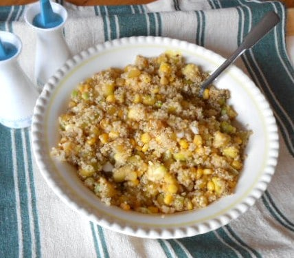 WW Veggie Quinoa Pilaf: An Easy, Good For You Side Dish