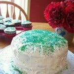 St. Patrick's Day Green Velvet Cake & Cupcake Recipe