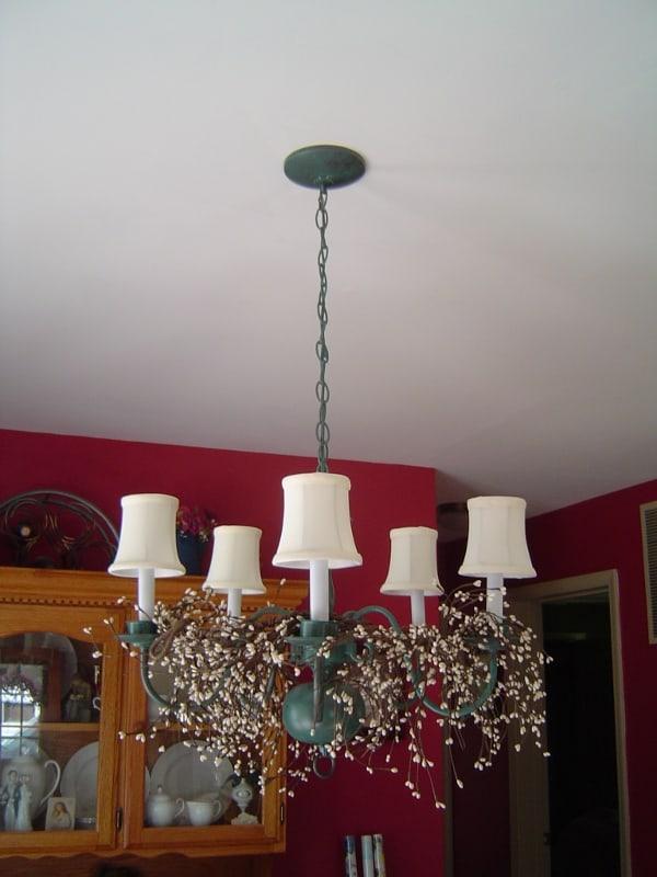 Do It Yourself Antique Patina Chandelier Housewives – Do It Yourself Chandelier