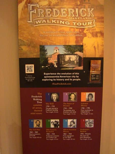 Frederick Walking Tour