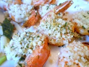 Lemon and Garlic-Crumb Shrimp - 5 Weight Watchers Points Plus Value