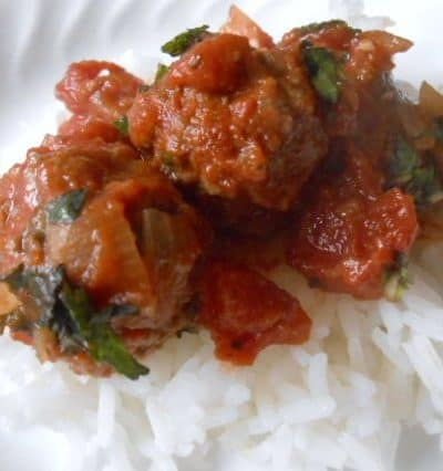 North African Meatball Stew - 5 Weight Watchers Points Plus Value