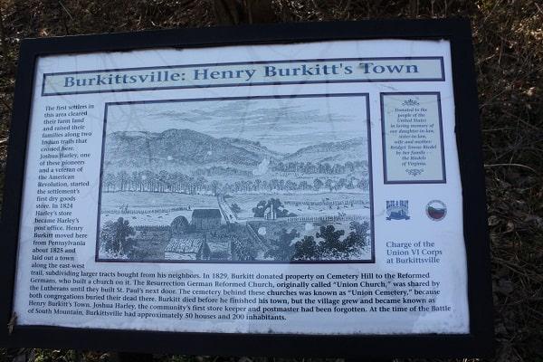 Henry Burkitt's Town