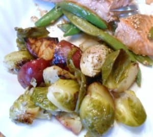 How to Cook Brussels Sprouts in a Foil Packet - 5 Weight Watchers Points
