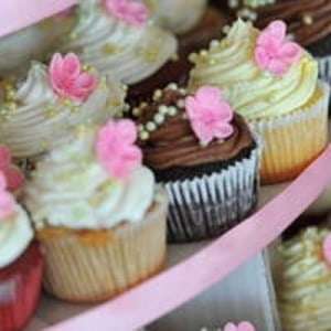 Giveaway! A Dozen Cupcakes from Piece O' Cake