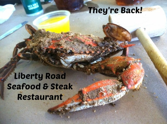 They 39 re back liberty road seafood steak restaurant for Steak and fish restaurants near me