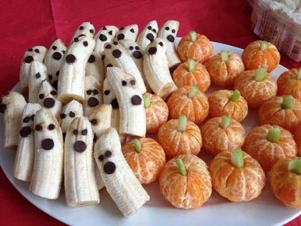 banana orange halloween pic