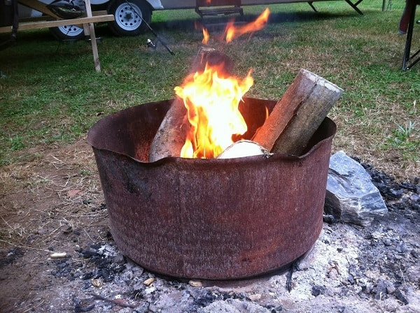 There's nothin' like a campfire!
