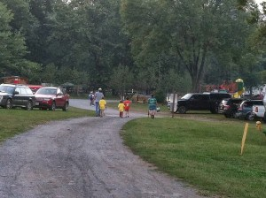 The boys going fishing
