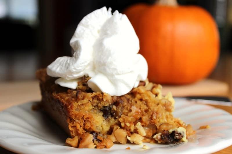 Great Pumpkin Dessert - Housewives