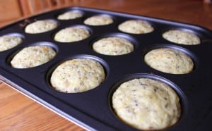 Weight Watchers Zucchini Muffins - Bite Size Mini Quiches