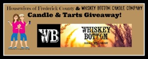 Giveaway! Hot Tottie Candle & 6 oz Pack of Deck the Halls Soy Tart Melts From Whiskey Bottom Candle Company