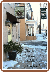 The Main Cup Restaurant in Middletown, Maryland