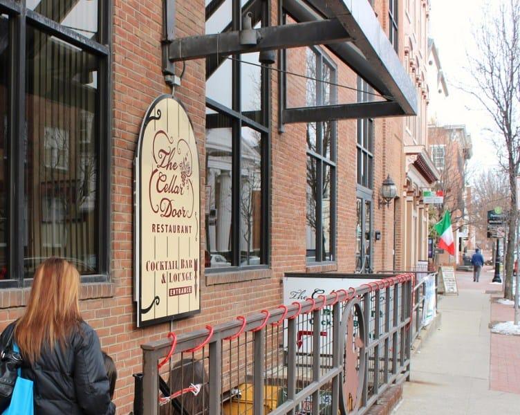 The Cellar Door Restaurant was our first stop