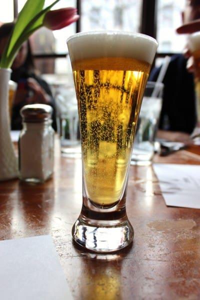 Brewers Alley Kolsch sample Frederick Restaurant Week