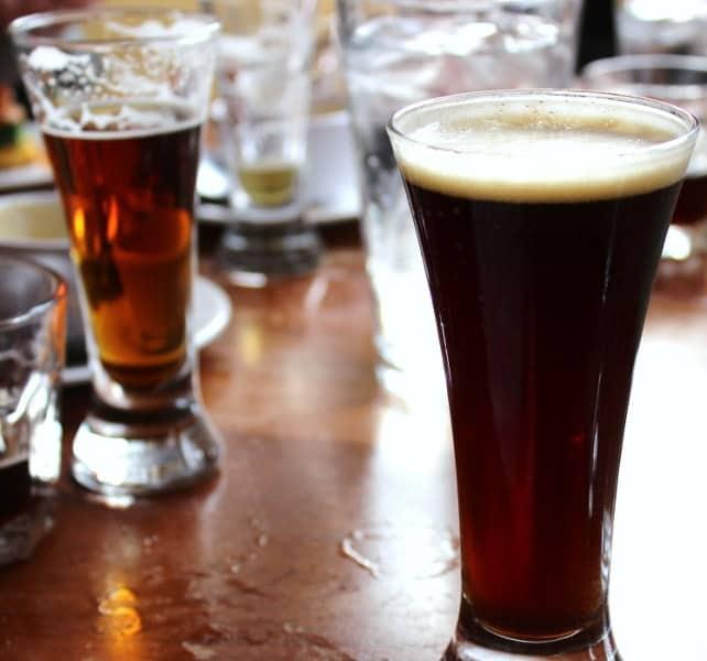 Brewers Alley beer samples