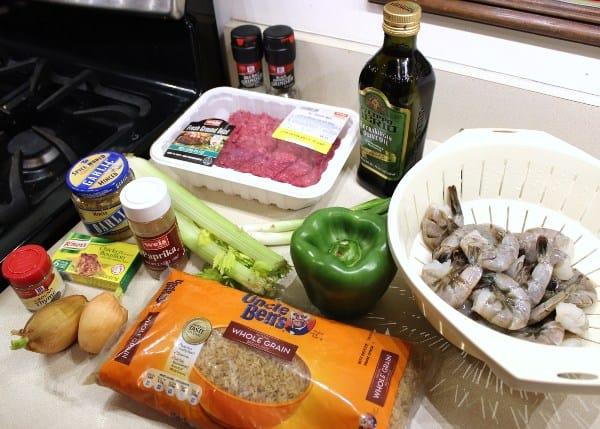 Shrimp recipe ingredients
