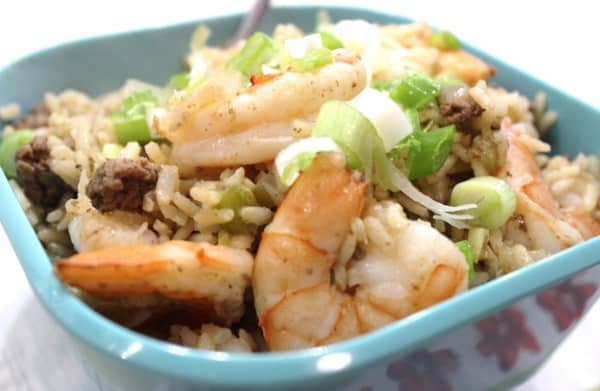 Dirty Rice with Shrimp - 9 Weight Watchers Points Plus Value