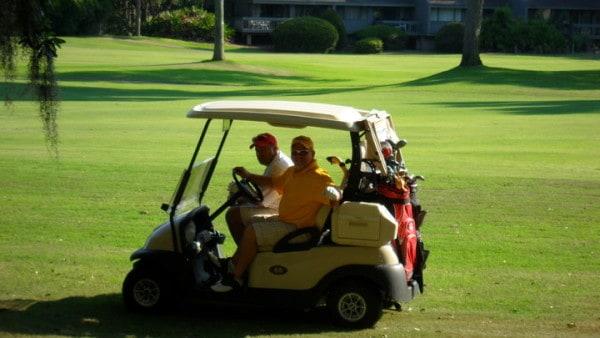 Golfing in Hilton Head
