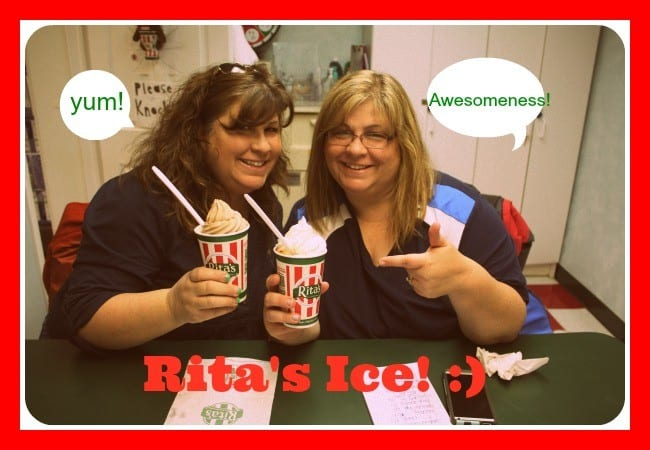 Give-away!! Rita's of Frederick – A Pillar of Happiness in our Community!