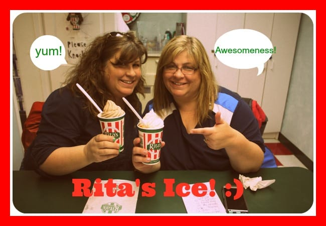 Rita's Italian Ice in Frederick, Md - A Pillar of Happiness in our Community!