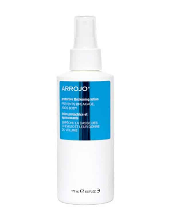 Arrojo Protective Thickening Lotion is crucial to use before using heated hair tools