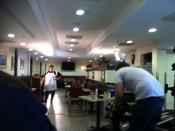 Acting in the Tastee Diner in Silver Spring