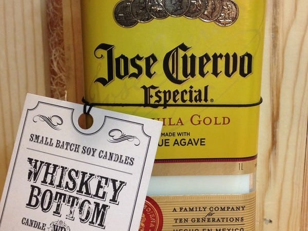 Giveaway! Whiskey Bottom Candle Company Jose Cuervo Tequila Sunrise Candle!