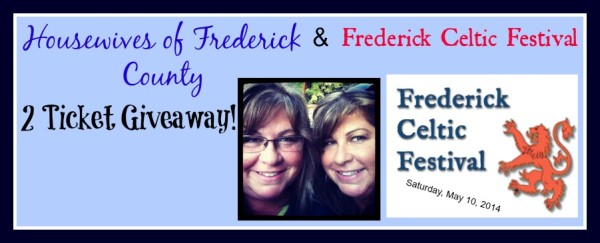 Giveaway! 2 Tickets to the 5/10/14 Frederick Celtic Festival!