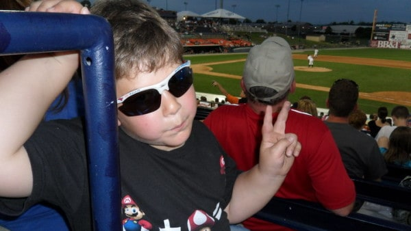 Summer baseball games!